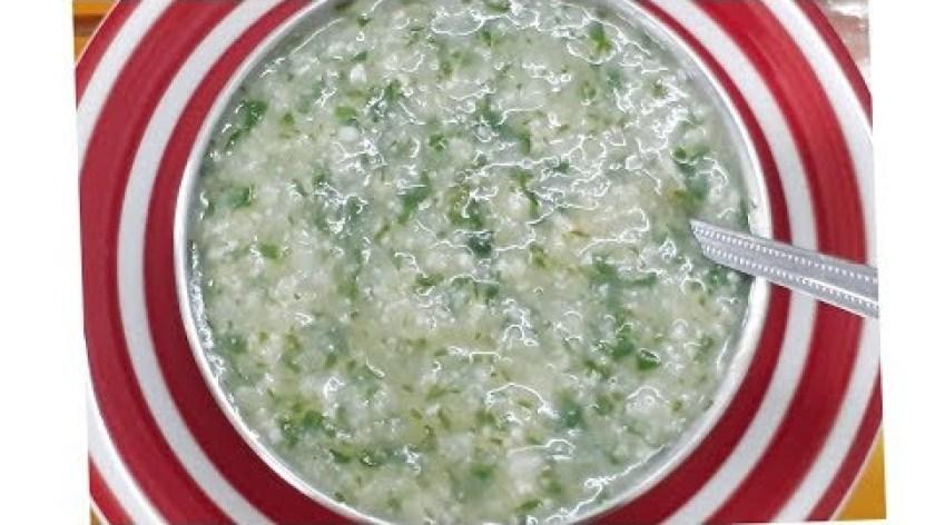 cách nấu khoai lang cho bé ăn dặm - Cách nấu Cháo Tôm rau Khoai lang cho bé   Thanh Tâm Food