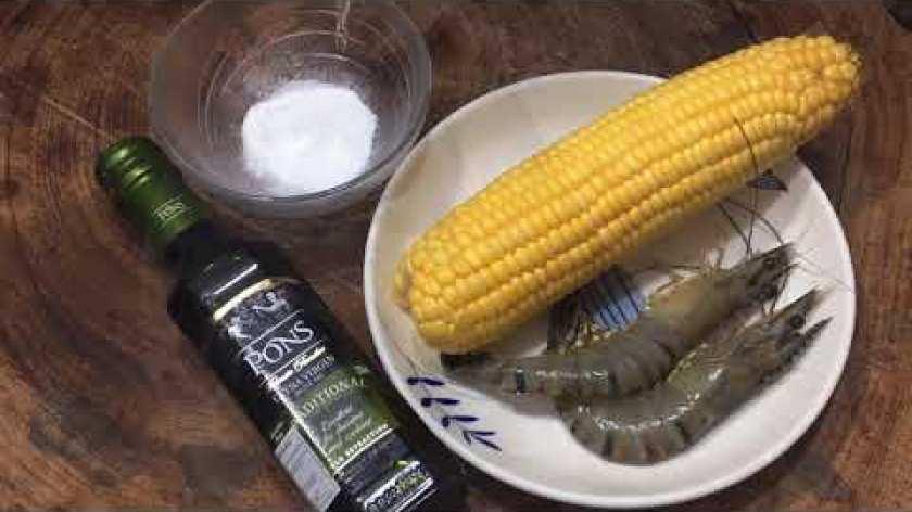 cách nấu khoai lang cho bé ăn dặm - Cách nấu cháo Tôm với Bắp Mỹ thơm ngon cho bé