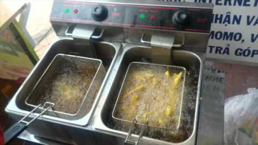hướng dẫn làm khoai lang lắc - Bếp chiên nhúng bằng điện - Bếp chiên khoai lang lắc - model: ET-ZL1 / ET-ZL2