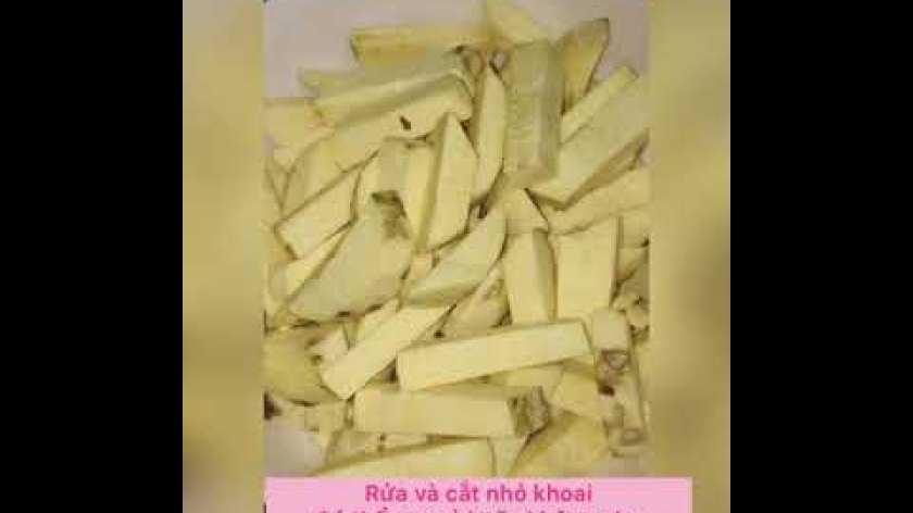hướng dẫn làm khoai lang lắc - Cách làm khoai lang lắc đơn giản tại nhà