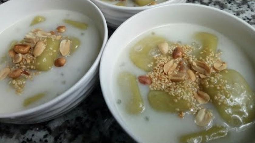 cách nấu khoai lang - Cách nấu chè KHOAI LANG DẺO nước cốt dừa - Món Ăn Ngon Mỗi Ngày
