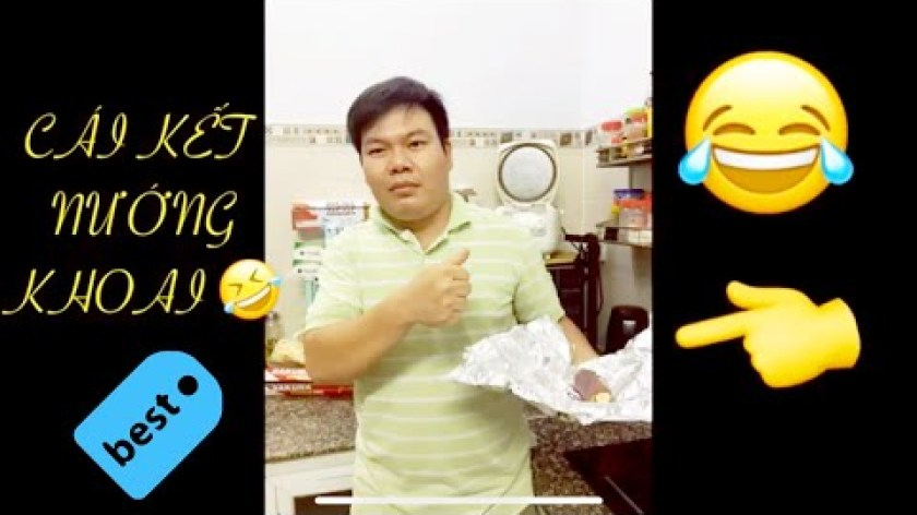 hướng dẫn nướng khoai lang bằng lò nướng - HƯỚNG DẪN NƯỚNG KHOAI LANG BẰNG LÒ VI SÓNG và CÁI KẾT - Nguyễn Thức Thời