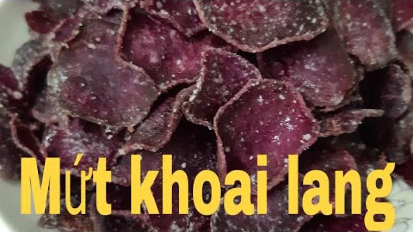 hướng dẫn làm mứt khoai lang - #mứt# tết#Cách làm mứt khoai lang#Sweet potato jam#TrangMomTV