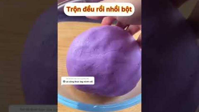 hướng dẫn làm bánh khoai lang - hướng dẫn làm bánh khoai lang tím dẻo