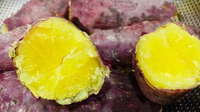 hướng dẫn luộc khoai lang - Bí quyết LUỘC KHOAI LANG vừa chín tới dẻo thơm ngọt giữ lâu và tốt cho sức khoẻ   Nho Huân Foods