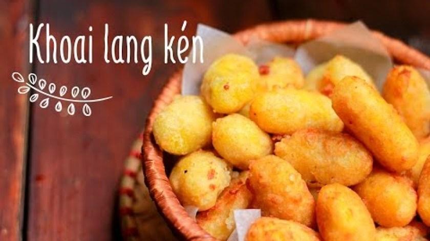 cách nấu khoai lang - Cách làm món Khoai lang kén | Fried sweet potato balls | Món ngon mỗi ngày | Ngon Plus