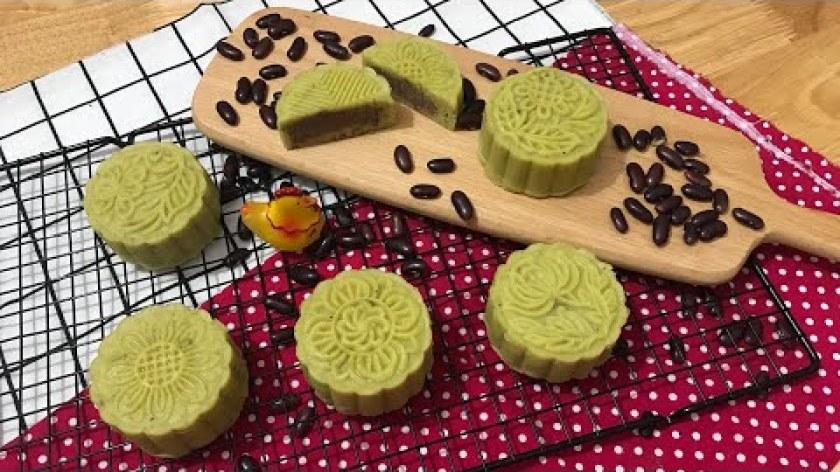hướng dẫn làm bánh khoai lang - Hướng dẫn làm bánh trung thu từ đậu đỏ và khoai lang cực ngon- Mooncake made from red beans and yam