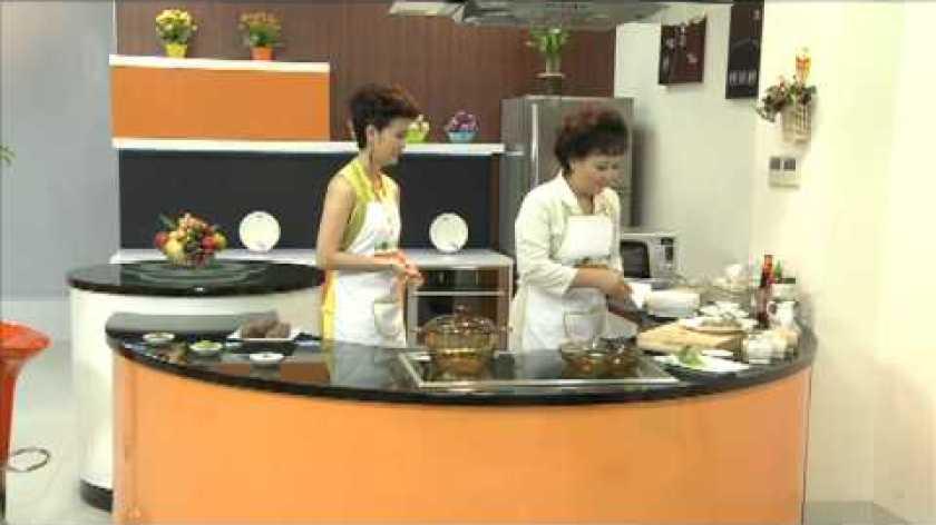 cách nấu khoai lang - Món Canh khoai lang nấu tôm