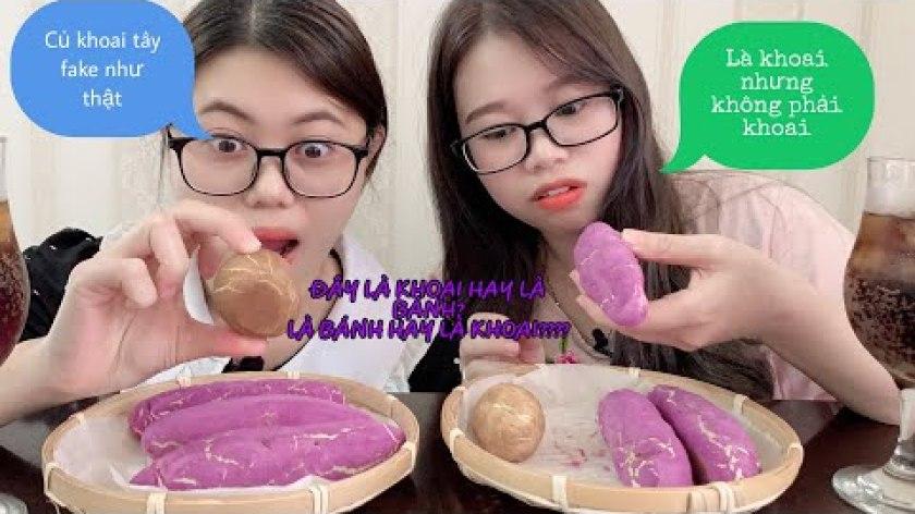hướng dẫn làm bánh khoai lang - Review và cách làm bánh khoai lang tím Hàn Quốc đang hot những ngày đông