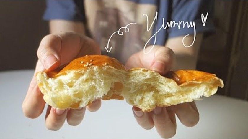 cách nấu khoai lang mật - SUPER SOFT sweet potato bread l CÁCH LÀM BÁNH MÌ KHOAI LANG SIÊU SIÊU MỀM