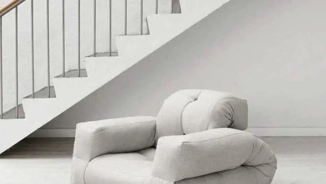 Hippo Convertible Futon Chair And Mattress