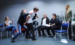 """Close Encounters of the Undead Kind"" cast getting rowdy in rehearsal"