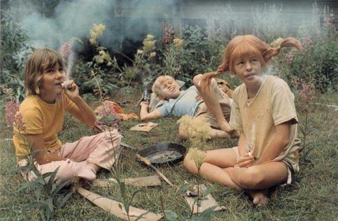 djeca puše kanabis