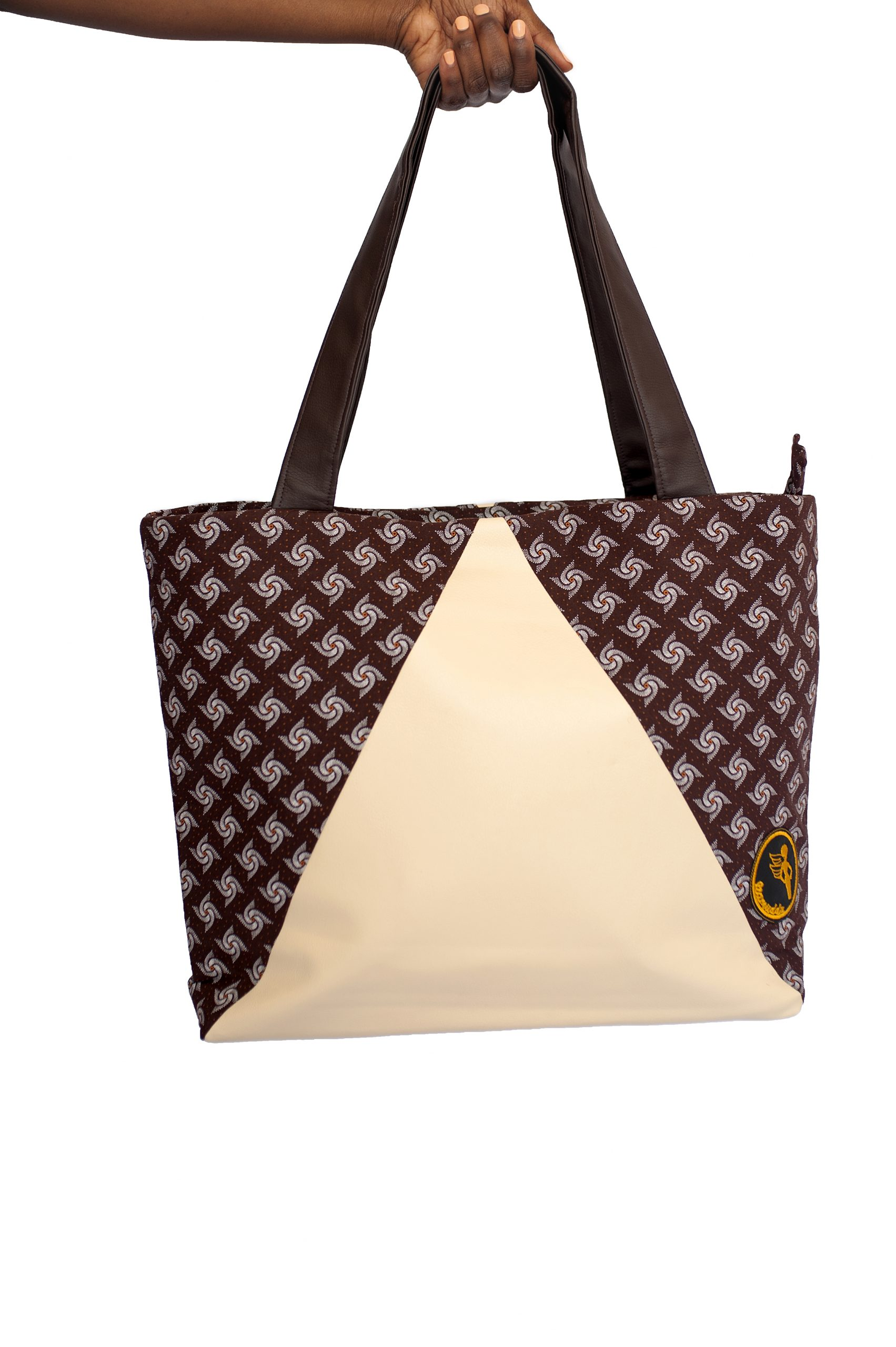Namuddu Shweshwe Tote Bag – Brown