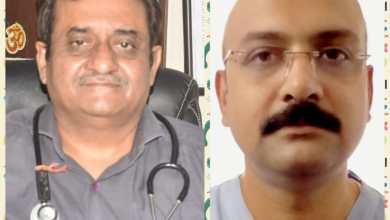 Photo of लगातार तीसरी बार आय एम ए अध्य्क्ष चुने गए डॉ कात्यायन मिश्रा