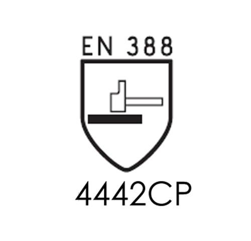 EN388 § 6.6 : Résistance à l'impact des gants de protection