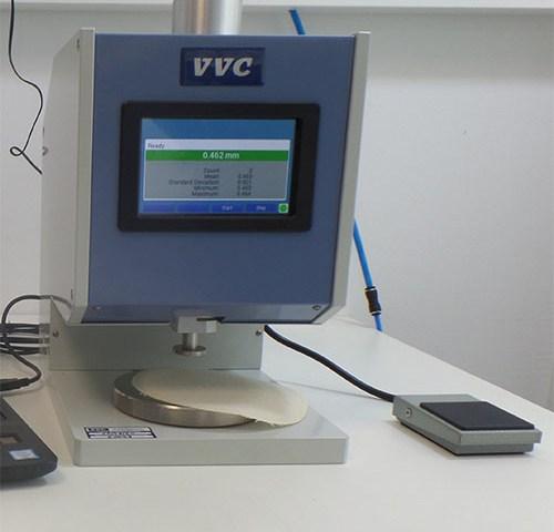 VVC Mesureur d'épaisseur manuel ISO-5084