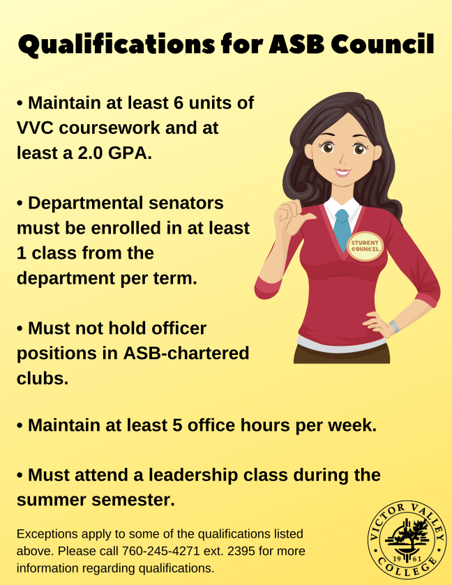 qualifications for ASB