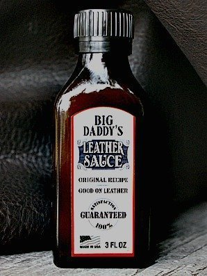 big daddy's leather sauce -- vvego.com