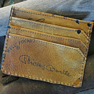 Baseball Glove Front Pocket Wallet (Limited Edition Mickey Mantle Series)