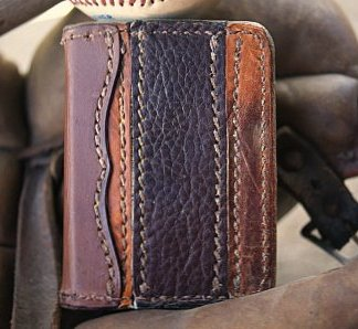 Bifold Wallet from Baseball Gloves