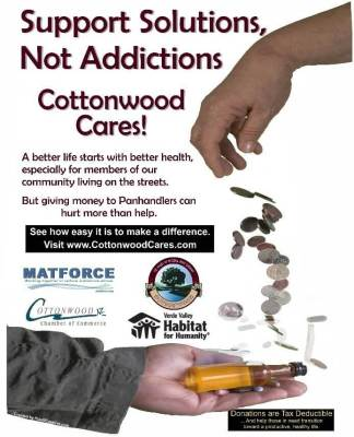 """""""Cottonwood Cares"""" Encourages a Hand Up, Not a Hand Out"""