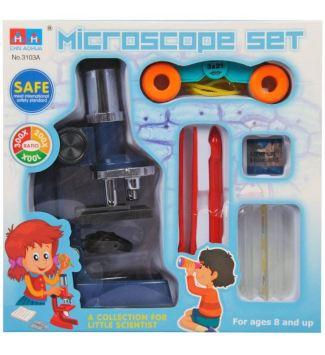 Mikroskop set Little scientist za otroke nakup poceni
