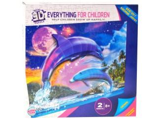 3D Sestavljanka Delfine za otroke puzzle prodaja poceni