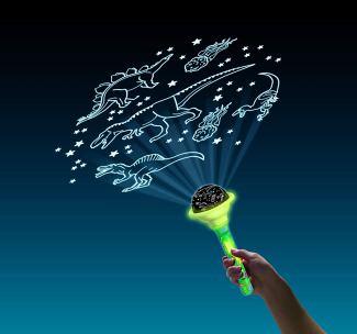 Svetilka projektor Dino torch raziskovalni seti