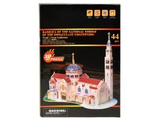 3D sestavljanka Bazilika Marijinega brezmadežnega spočetja