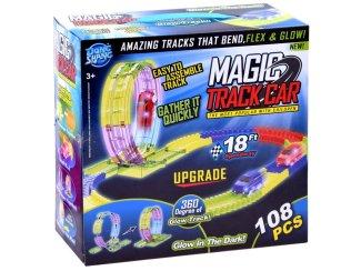 Igrača otroška dirkalna steza Magic track car 108 delov