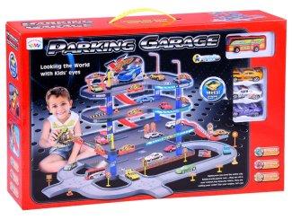 Igrača otroška garažna hiša Parking garage