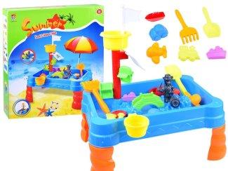 Otroška miza – peskovnik za igro z vodo in peskom