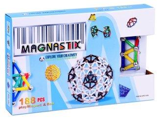Magnetni konstruktor kocke Magnastix 188 delov