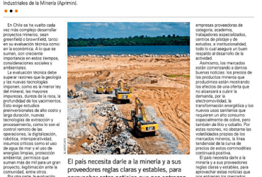 Proyectos mineros: el logro de la perseverancia