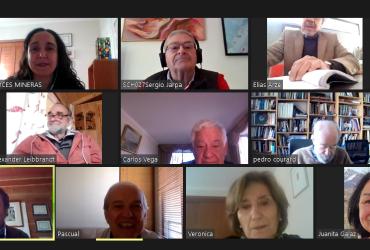 "Socios de Voces Mineras se reúnen en primer ""Café Virtual"""