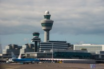 Air Traffic Control tower at Schipol airport - slightly higher than the one I am working at :)