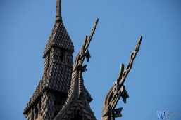 "Dragon heads! Stave churches were built to mimic Viking religious temples to ""ease"" the transformation to Christianity."