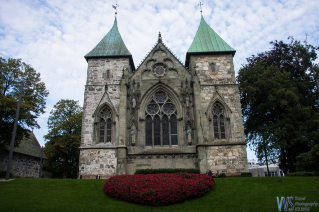 Stavanger Cathedral - the oldest cathedral in Norway. It was finished around 1150 but has gone through quite some changes during the centuries.
