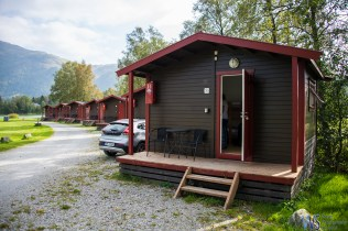 And finally, our destination - cottage in a camp just outside of Bergen.