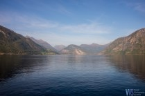 Arriving to Eisdal, we had another picturesque fjord to cross.