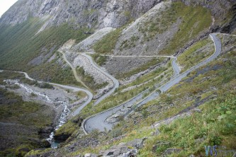 And the lower part of Trollstigen.