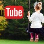 Детская кнопка на YouTube