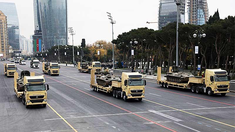парад в Баку