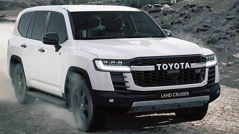Land Cruiser 300. Фото: пресс-служба Toyota