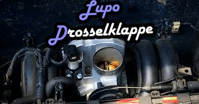 VW Lupo Seat Arosa Drosselklappe reparieren defekt schwankt Stottert reinigen Reinigung Lösung