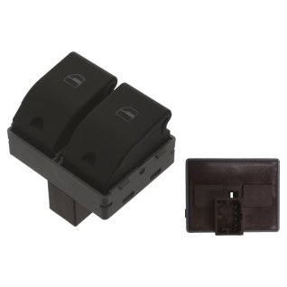 Schalter für elektrische Fensterheber - passend für VW Lupo - elektrischer Fahrer Fahrerseite defekt reparieren klicken austauschen