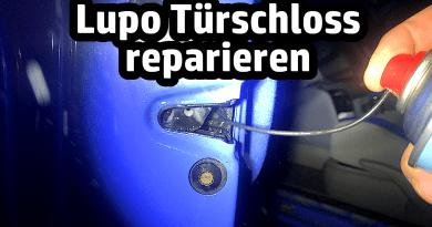 VW Lupo Türschloss reparieren Schließzylinder Tür schließt nicht rechts links Kofferraum Drehfallenschloss austausch tausch defekt