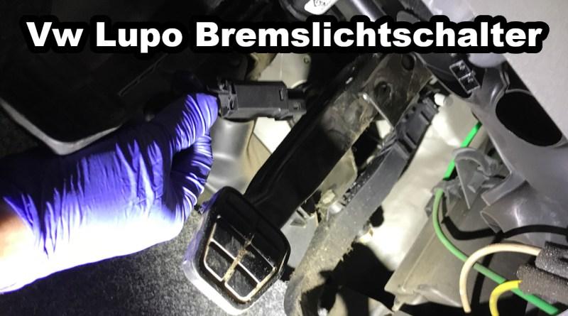VW Lupo Seat Arosa Bremslicht Bremslichtschalter defekt austauschen funktioniert nicht Schalter 2 Bremslichter