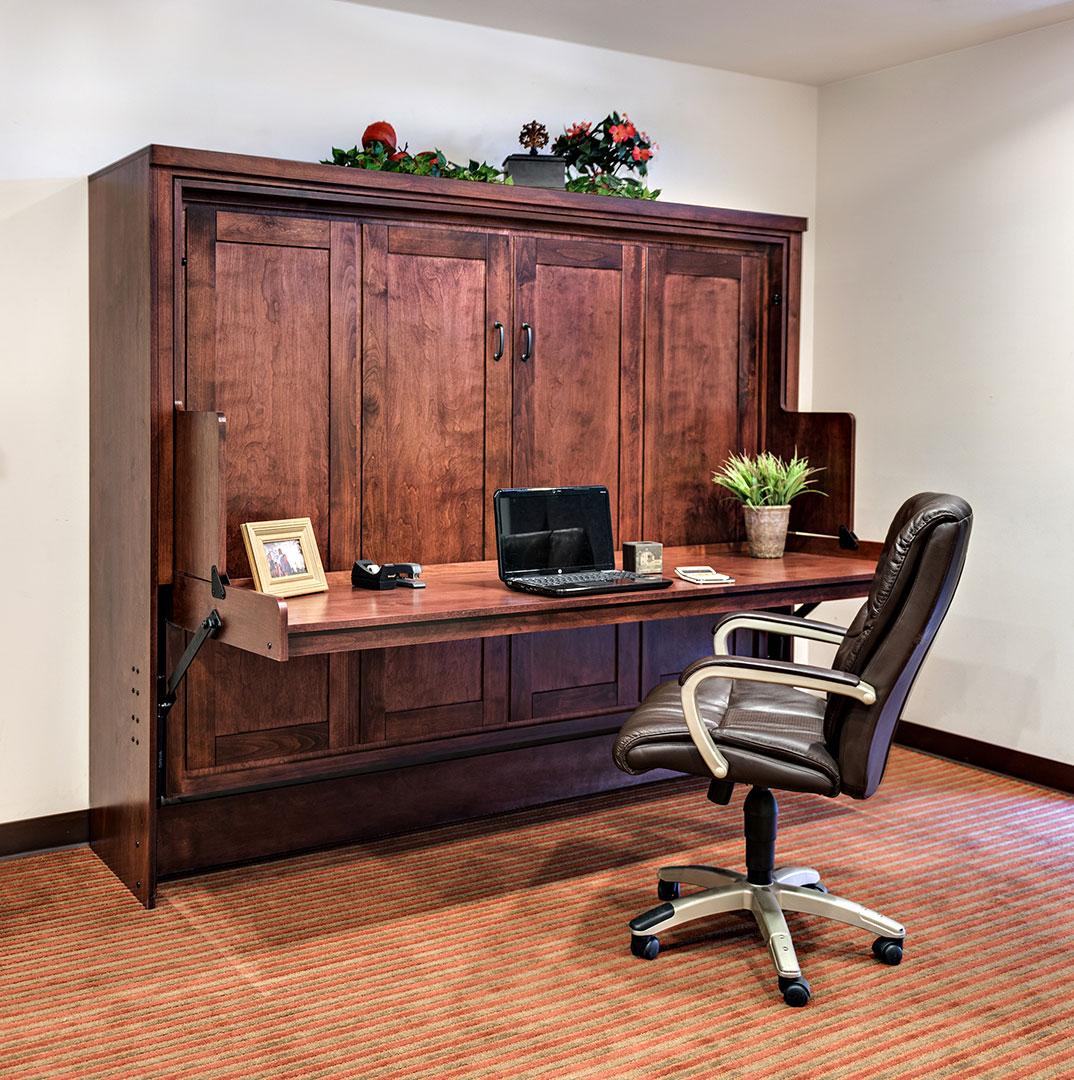 murphy desk bed hide away desk bed